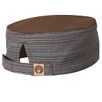 Chefworks Brooklyn Cool Vent Beanie Chocolate/Blue - HB003BUC