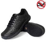 Genuine Grip Womens 160 Athletic Shoes Black