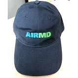 Airmd Brushed Twill Low Profile Hat w/ Logo Navy - CP77_NA