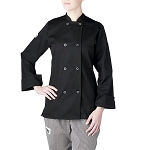 Chefwear Womens Primary Plastic Button Chef Jacket - CW4420