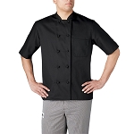 Chefwear Primary Cloth Knot Button Chef Jacket - CW4450