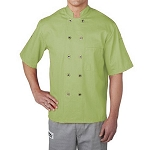 Chefwear Primary Plastic Button Chef Jacket - CW4455