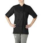 Chefwear Womens Primary Cloth Knot Button Chef Jacket - CW4460