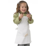 Chefworks Kids Chef Apron White - A3002