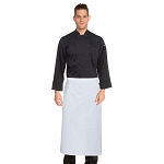 Chefworks Bar Chef Apron White - B3