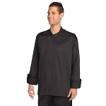 Chefworks New York Cool Vent Executive Chef Jacket Black - BLDF