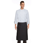Chefworks Tapered Chef Apron Black - BPTA