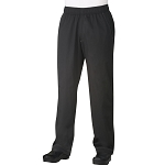 Chefworks Cool Vent Baggy Chef Pants Black - CVBP
