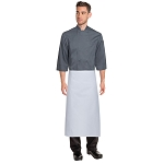 Chefworks Tapered Chef Apron White - LCBA