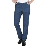 Chefworks Womens Modern 539 Constructed Chef Pants Indigo Blue - PEC01W