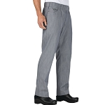 Chefworks Vertical Stripe Chef Pants - PEE02