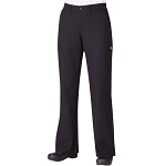 Chefworks Womens Professional Chef Pants Black - PW003BLK