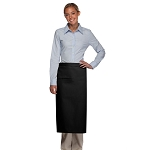 DayStar Apparel Full Bistro Apron w/ Inset Pocket - 120-I