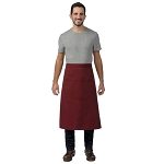 DayStar Apparel Full Bistro Apron w/ Center Divided Pocket - 128