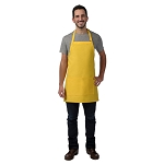 DayStar Apparel Bib Apron w/ Center Divided Pockets - 212
