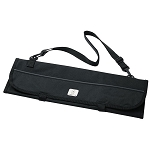 Mercer Culinary 7 Pocket Knife Roll Black - M30007