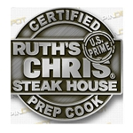 Ruth's Chris Certified Prep Cook Pin