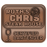 Ruth's Chris Certified Bartender Pin