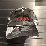 Ruth's Chris Artic Camouflage Baseball Hat w/ Logo - R-Arctic