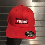 Ruth's Chris Fitted Hat w/ Logo Red - R-C813_R