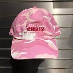 Ruth's Chris Pink Camouflage Baseball Hat w/ Logo - R-Pink