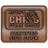 Ruth's Chris Certified Side Cook Pin