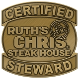 Ruth's Chris Certified Steward Pin