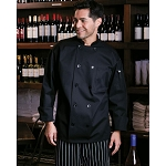 Uncommon Threads Classic Chef Jacket w/ Mesh Back - UT0426