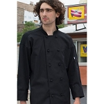 Uncommon Threads Classic Knot Chef Jacket w/ Mesh Back - UT0427