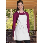 Uncommon Threads Child Apron White - UT3009