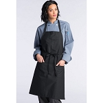 Uncommon Threads Pencil Patch Pocket Bib Apron - UT3004
