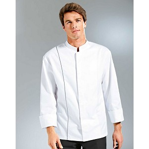 Bragard Team Chef Jacket White/Gray - 6178-2566