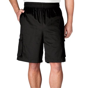 Chefwear Ultimate Cotton Chef Shorts Black - CW3805