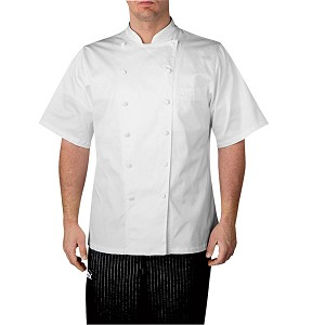 Chefwear Executive Royal Cotton Chef Jacket White - CW4050