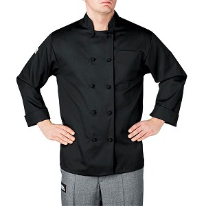 Chefwear Primary Cloth Knot Button Chef Jacket - CW4400
