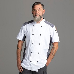 Chefwear Quick Cool Stretch Chef Jacket White - CW5630