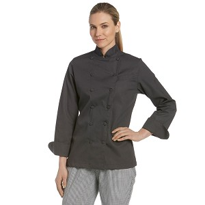 Chefwear Womens Classic Executive Chef Jacket Graphite - CW5695-105