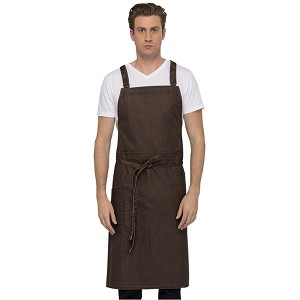 Chefworks Denver Chef Cross-Back Bib Apron - ACX01