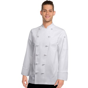 Chefworks Montreux Executive Chef Jacket White - CKCC