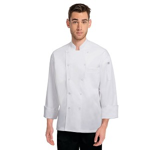Chefworks Lyon Executive Chef Jacket White - EWCC