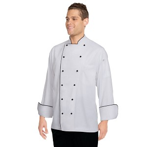 Chefworks Newport Executive Chef Jacket White - MICC