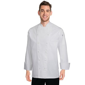 Chefworks Monza Executive Chef Jacket White - SE52