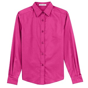 Port Authority Womens Long Sleeve Easy Care Shirt - L608