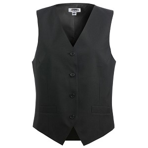Ruth's Chris Womens Economy Vest Black - 7490-10