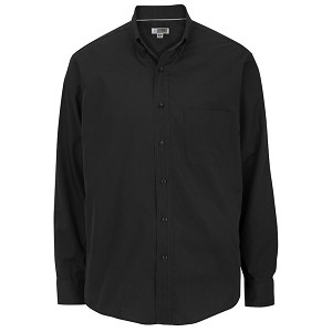 Ruth's Chris Mens Long Sleeve Innovation Bartender Shirt Black (Minnesota & Ohio Stores Only) - 1295