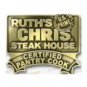 Ruth's Chris Certified Pantry Cook Pin