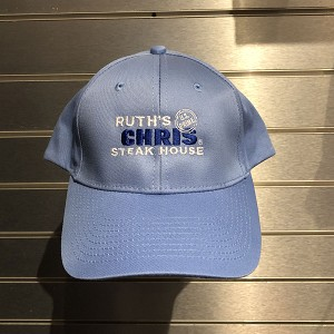 Ruth's Chris Baseball Hat w/ Logo Light Blue - R-5048_LB