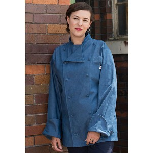 Uncommon Threads Sante Fe Chef Jacket Demin - UT0460C