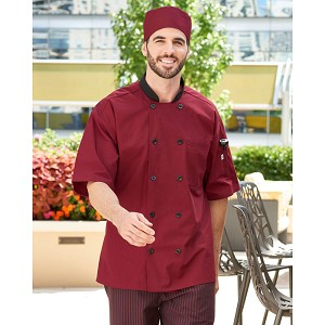 Uncommon Threads Havana Chef Jacket w/ Tonal Mesh Back - UT0494